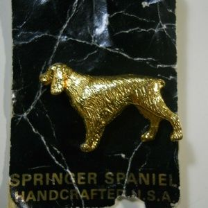 Jewelry - Springer Spaniel Dog Fine Pin USA Made